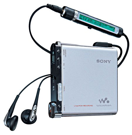 Sony MZ-RH1 MiniDisc-speler