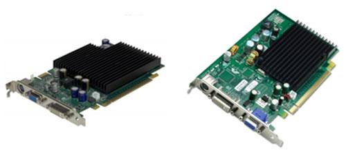 GeForce 7600 GS en GeForce 7300 LE