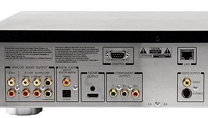 Toshiba HD-XA1 standalone hd-dvd-speler (aansluitingen achterkant)