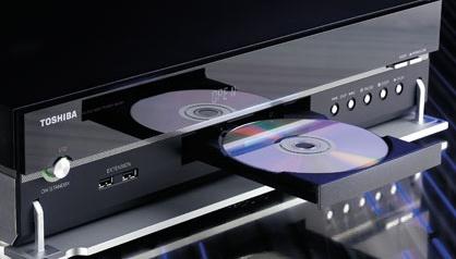 Toshiba HD-XA1 standalone hd-dvd-speler (bediening voorkant)