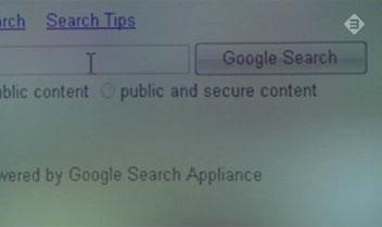 Zembla-uitzending 'Google geheimen' - iWay Enterprise Index interface