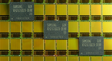 Samsung 70nm OneNAND chips