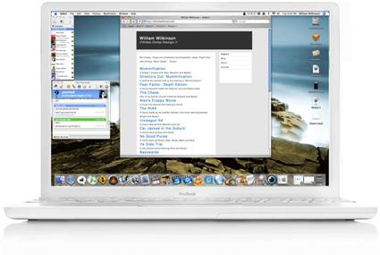 Apple iBook - artist impression