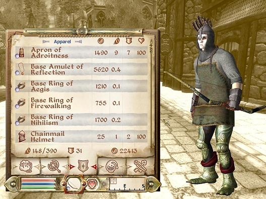 The Elder Scrolls IV: Oblivion - 'gothic w00telf' van MUSTIS