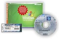 WinXP Home CD & COA