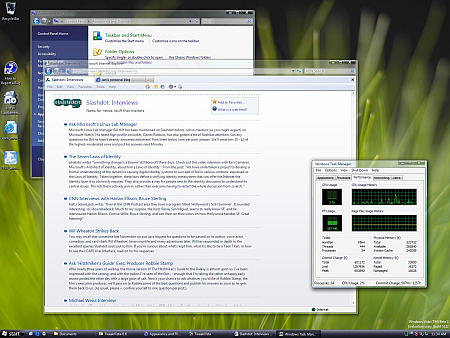 Vista's Aero-interface