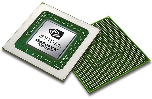 nVidia GeForce 7800 GT - core