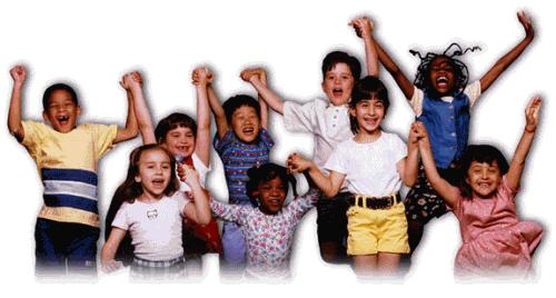 Groepje kinderen