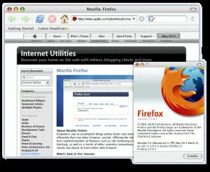 Firefox 1.5.0.2 op Mac