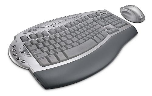 Microsoft Wireless Laser Desktop for Mac (perspectief)