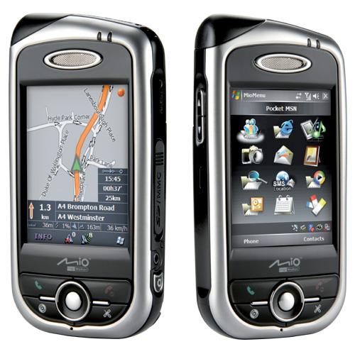Mio A701 (pda smartphone) - 2 aanzichten