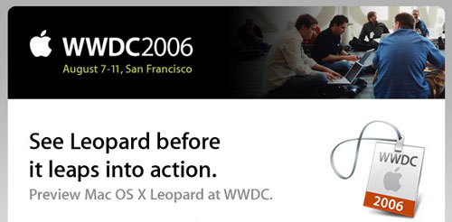 WWDC 2006 uitnodiging (klein)