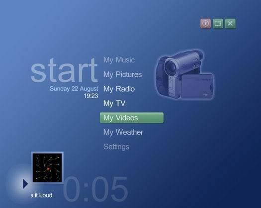Media Portal screenshot (resized)