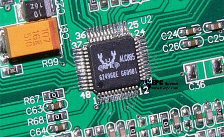 Realtek ALC885-chip