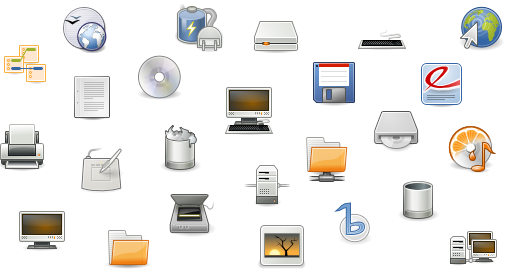 Ubuntu Linux 6.06 beta - nieuwe icons