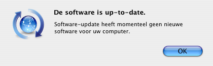 Apple - Software is up-to-date