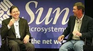 Suns Jonathan Schwarz & Scott McNealy
