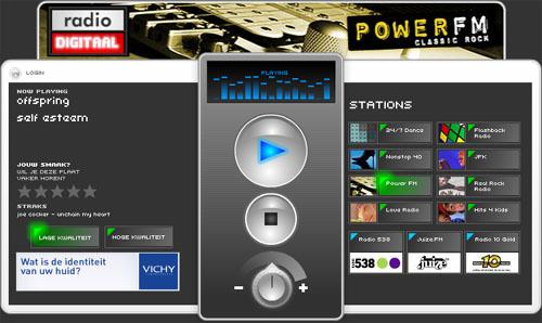 Radiodigitaal.nl-screenshot