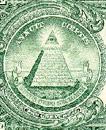 Uitsnede amerikaans bankbiljet