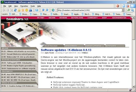K-Meleon 0.9.12