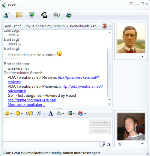MSN Live Messenger 8