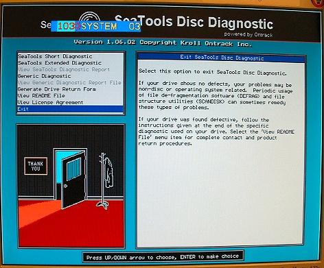 Seagate SeaTools 1.06.02