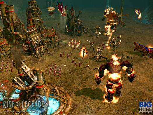 Rise of Nations: Rise of Legends demo