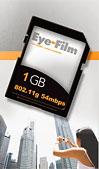 Eye-fi SD-flashgeheugenkaart met WiFi
