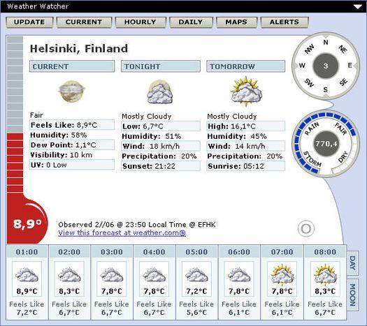 Weather Watcher screenshot (resized)