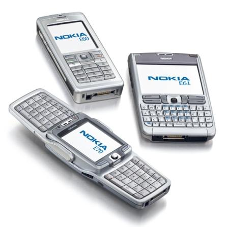 Nokia E60, Nokia E61, Nokia E70