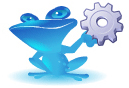 Blue Frog-werk-in-uitvoering-logo