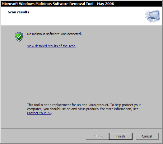 Microsoft Malicious Software Removal Tool 1.16
