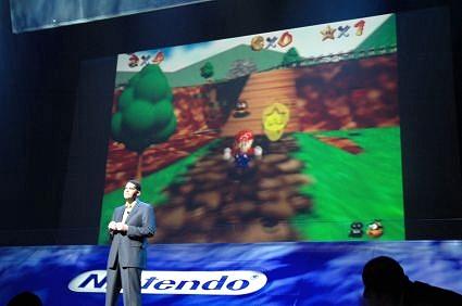 Persconferentie Nintendo E3 - Super Mario 64