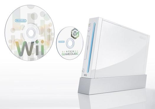 Nintendo Wii met discs