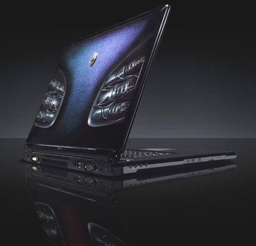 Alienware mAlx-laptop met paintjob