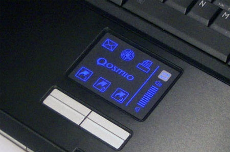 Touchpad met backlight