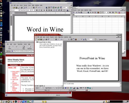 Wine (klein)