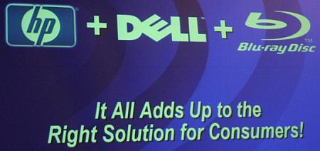 HP, Dell, Blu-ray