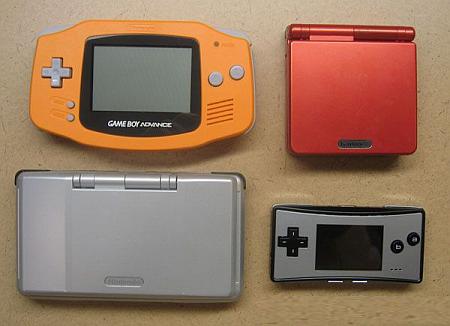 Gameboy-familie