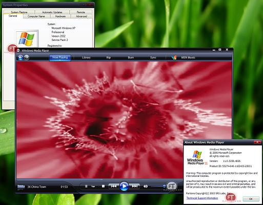 Microsoft Windows Media Player 11.0.5358.4826 (klein)