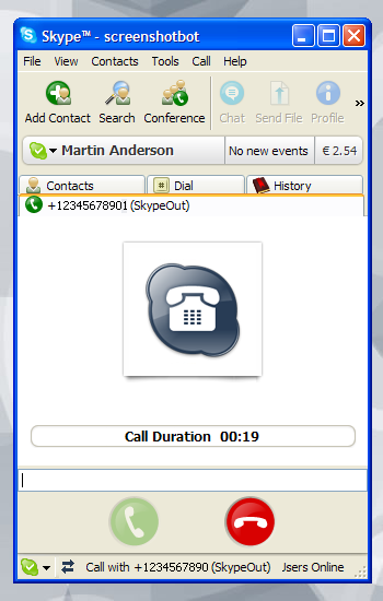 Skype for Windows - Call regular phones
