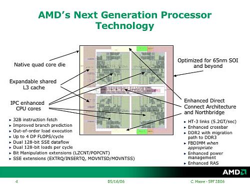 AMD K8L-core met verbeteringen