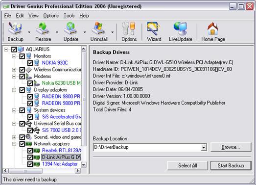 Nvidia network bus enumerator