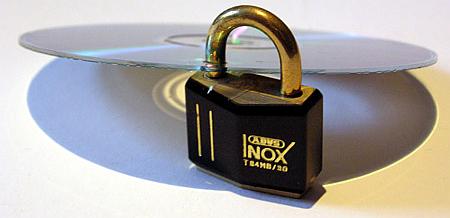DRM, cd met hangslot