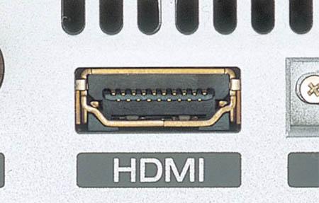 HDMI-aansluiting