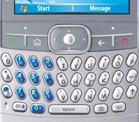 Motorola Moto Q (fragment toetsenbord)