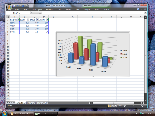 Microsoft Office 2007 beta 2 - Excel (512px)