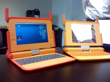 One Laptop Per Child prototype