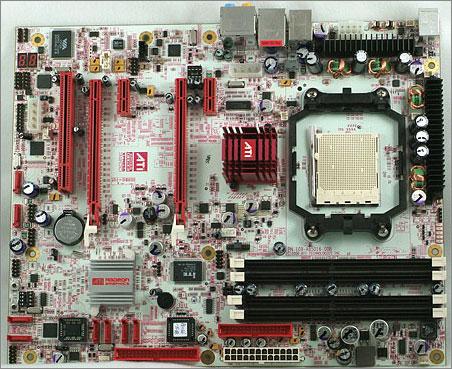 ATi CrossFire Xpress 3200 Socket AM2 reference moederbord