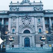 Zweeds parlementsgebouw in Stockholm
